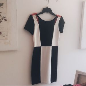 Never Worn Rebecca Minkoff Colorblock dress